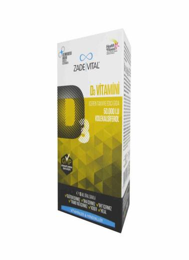 Zade Vital Zade Vital Vitamin D3 50000 IU 15ml Renksiz